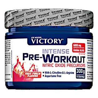 Intense Pre-Workout NOP 300g - fruit punch
