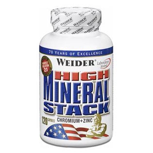 High Mineral Stack 120 kapslí