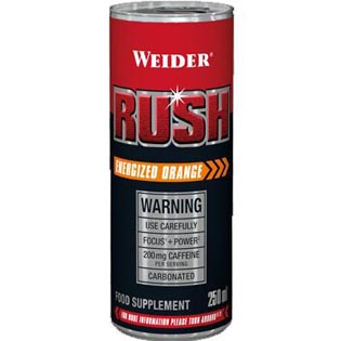 Rush RTD 250ml - pomeranč