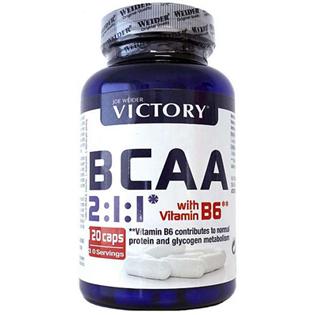 BCAA 2:1:1 + Vitamin B6  120 kapslí