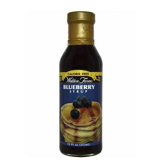 Blueberry Syrup 355ml - Walden Farms