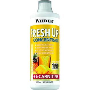 Fresh Up + L-Carnitin 1000ml. - malina