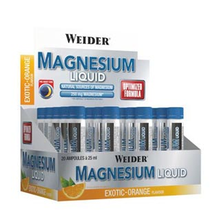 Magnesium Liquid 20x 25ml.