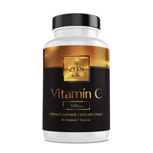 Zeen Vitamin C 500 mg  60 kapslí + Protein Cookie 50g