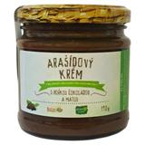 Arašídový krém s hořkou čokoládou a mátou 190 g