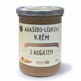 Arašído-lískový krém s nugátem 390 g
