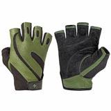 Fitness rukavice 143 PRO pánské, kožené, bez omotávky