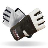 Fitness rukavice Professional 269 s omotávkou - bílé