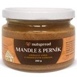 100% Mandlové máslo s perníkovým kořením 250g