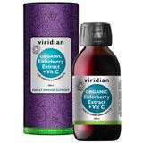 Organic Elderberry Extract + Vitamin C 100 ml