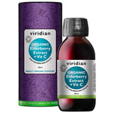 Organic Elderberry Extract + Vitamin C 100 ml